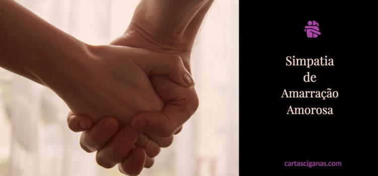 Simpatia Amarração Amorosa