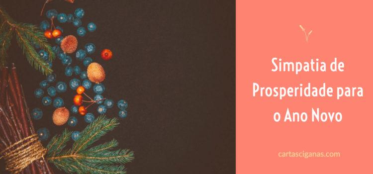 Simpatia de Prosperidade para o Ano Novo
