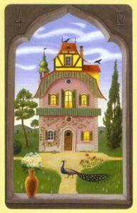 A Casa Baralho Cigano